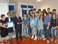 Classe II D Liceo Scientifico Vallone Galatina